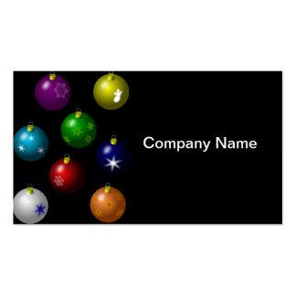 Colorful Ornament Design Business Card