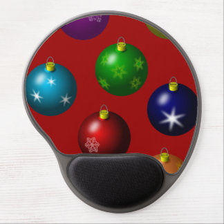 Colorful Ornament Design Mouse Pad Gel Mouse Pad