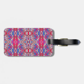 Colorful Ornate Decorative Pattern Bag Tag