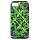 Colorful Ornate Irish Celtic Knot iPhone 5 Covers