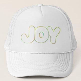 Colorful Outline Art - Joy - word hat