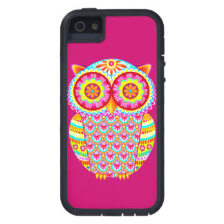 Colorful Owl Case For iPhone SE/5/5s