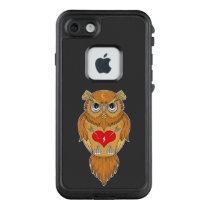 Colorful Owl Design LifeProof FRĒ iPhone 7 Case