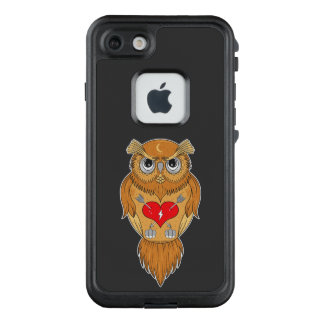 Colorful Owl Design LifeProof FRĒ iPhone 7 Case