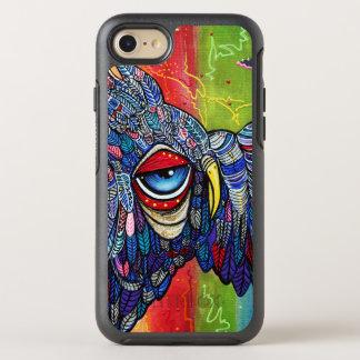 Colorful Owl Graffiti iPhone Case