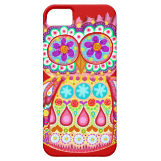 Colorful Owl Groovy iPhone 5 Case