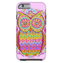 Colorful Owl Groovy iPhone 6 case