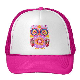 Colorful Owl Hat
