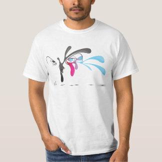 Colorful Owl Head Illustration Shirt