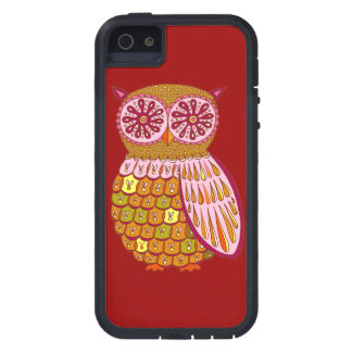 Colorful Owl iPhone 5/5S Case Tough Xtreme