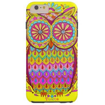 Colorful Owl iPhone 6 Plus Case