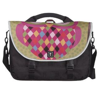Colorful Owl Laptop Commuter Bag