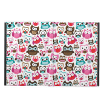 colorful owl pattern case for iPad air