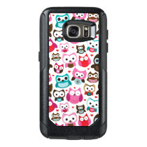 colorful owl pattern OtterBox samsung galaxy s7 case