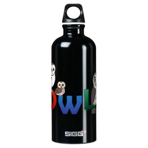 Colorful Owl SIGG Traveler 0.6L Water Bottle