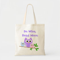 Colorful Owls Canvas Bag