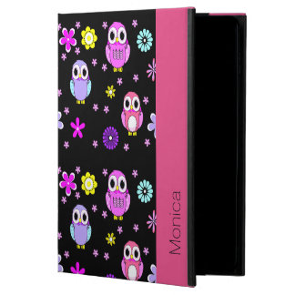 Colorful Owls Personalized iPad Air 2 Folio Case