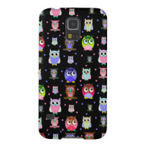 Colorful Owls Samsung Galaxy S5 case