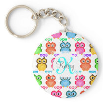 Colorful Own Monogram Keychain