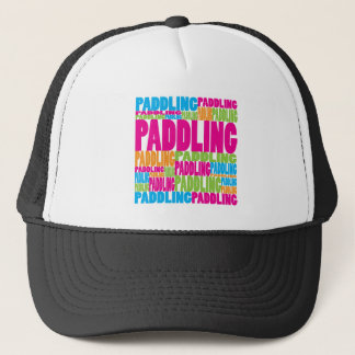 Colorful Paddling Trucker Hat