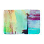 Colorful Paint Abstract Bath Mat