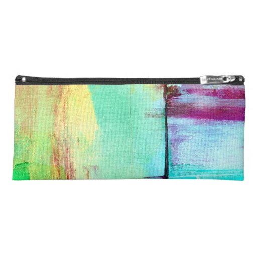 Colorful Paint Abstract Pencil Case