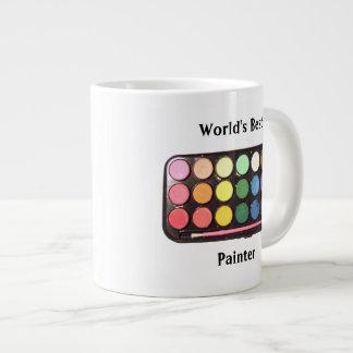Colorful Paint Box Rainbow Jumbo Mug