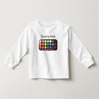 Colorful Paint Box Rainbow Toddler T-shirt