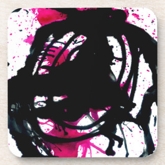 Colorful Paint Drips 11 Drink Coaster