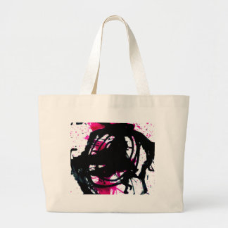 Colorful Paint Drips 11 Large Tote Bag