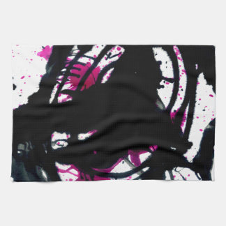 Colorful Paint Drips 11 Towel