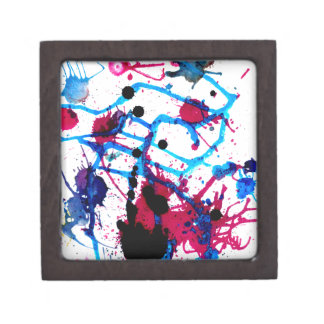 Colorful Paint Drips 12 Gift Box