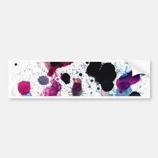 Colorful Paint Drips 13 Bumper Sticker
