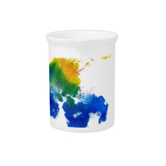 Colorful Paint Drips 6 Drink Pitcher