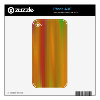 COLORFUL PAINT RAINBOW 11 SKIN FOR THE iPhone 4S