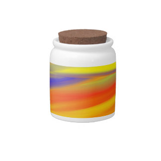 COLORFUL PAINT RAINBOW 4 CANDY DISH
