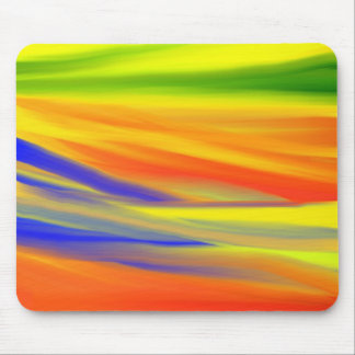 COLORFUL PAINT RAINBOW 4 MOUSE PAD