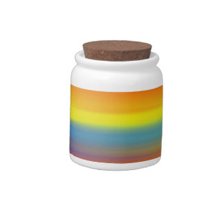 COLORFUL PAINT RAINBOW 5 CANDY DISH
