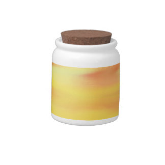 COLORFUL PAINT RAINBOW 6 CANDY JAR
