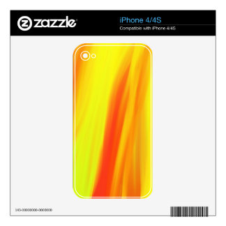 COLORFUL PAINT RAINBOW 6 DECAL FOR iPhone 4