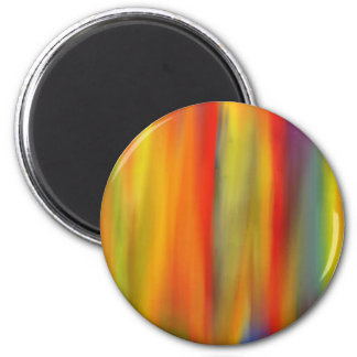 COLORFUL PAINT RAINBOW 7 MAGNET