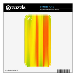 COLORFUL PAINT RAINBOW 7 SKIN FOR THE iPhone 4S