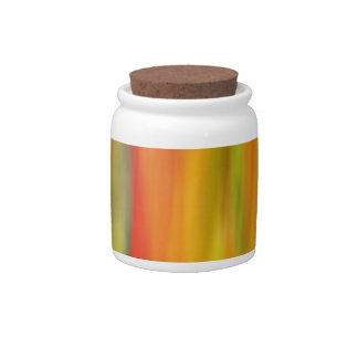 COLORFUL PAINT RAINBOW 8 CANDY JAR