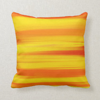 COLORFUL PAINT RAINBOW  Abstract Art Throw Pillow