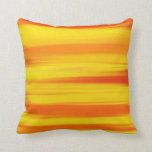 COLORFUL PAINT RAINBOW  Abstract Art Throw Pillows