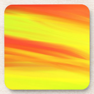 COLORFUL PAINT RAINBOW ART 2 BEVERAGE COASTER