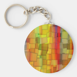 COLORFUL PAINT RAINBOW ART 3 KEYCHAIN