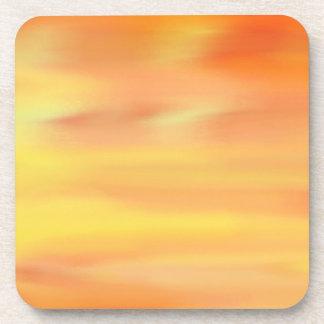 COLORFUL PAINT RAINBOW ART 5 BEVERAGE COASTER