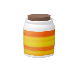 COLORFUL PAINT RAINBOW CANDY JAR