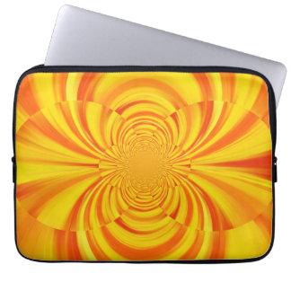 COLORFUL PAINT RAINBOW Swirl Abstract Art Computer Sleeve